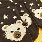 Носки женские махровые новогодние высокие Добра Пара 23-25р медведь тёмно-синие 20038953, фото 5