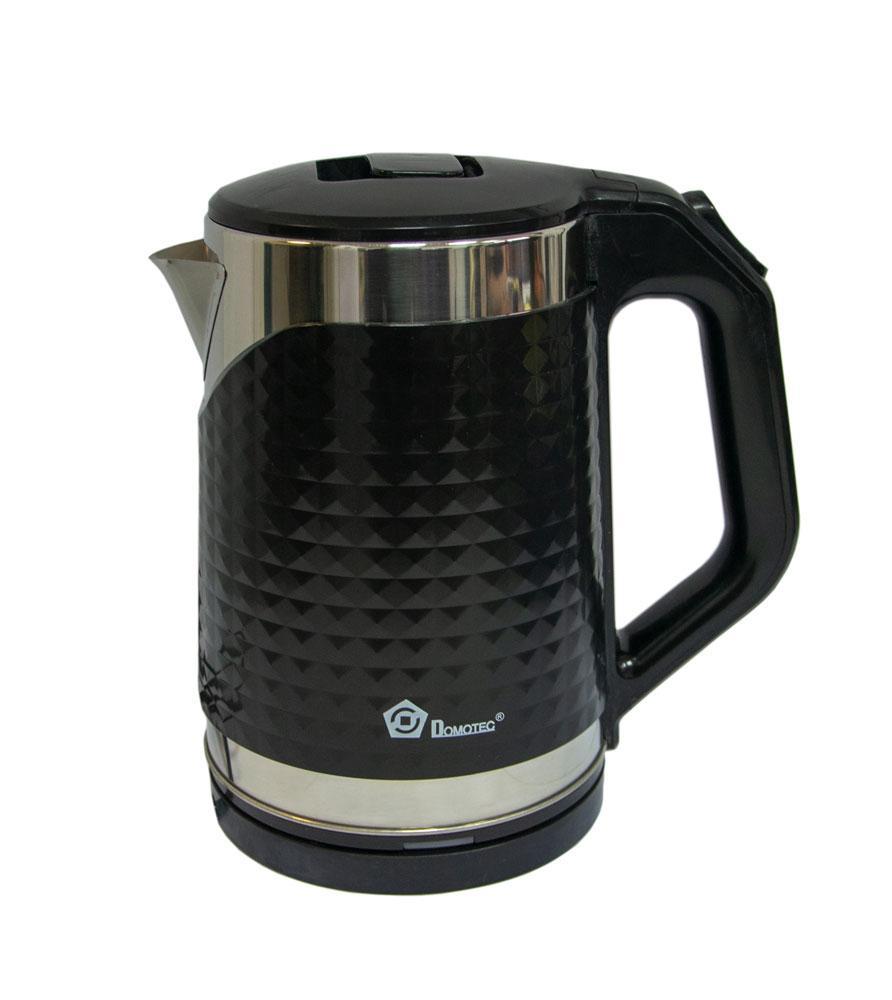 Чайник электрический Domotec MS-5027 черный, электрочайник емкостью на 2.2 л   електричний чайник (GK)