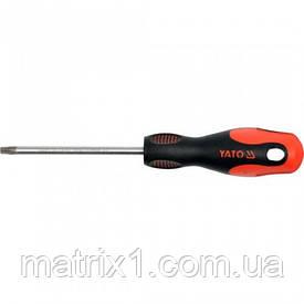 Отвертка TORX Т40 x 100 мм, сталь S2, двухкомпонентная рукоятка YATO