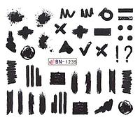 Слайдер водный для дизайна ногтей BN-1235