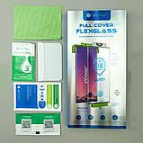 Скло для SAMSUNG S-серії BESTSUIT Full Cover Flexglass, фото 4