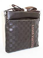 Сумка мужская, планшет Louis Vuitton 715 коричневый, 26*26.5*5 см