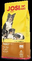 Высококалорийное питание для сук и щенков JosiDog Family (18 кг.)