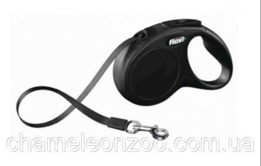 Поводок-рулетка Flexi New CLASSIC S 5 м до 15 кг Тріксі (TX-11831)