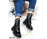 Ботинки зимние на тракторной подошве NINA_MI, фото 4