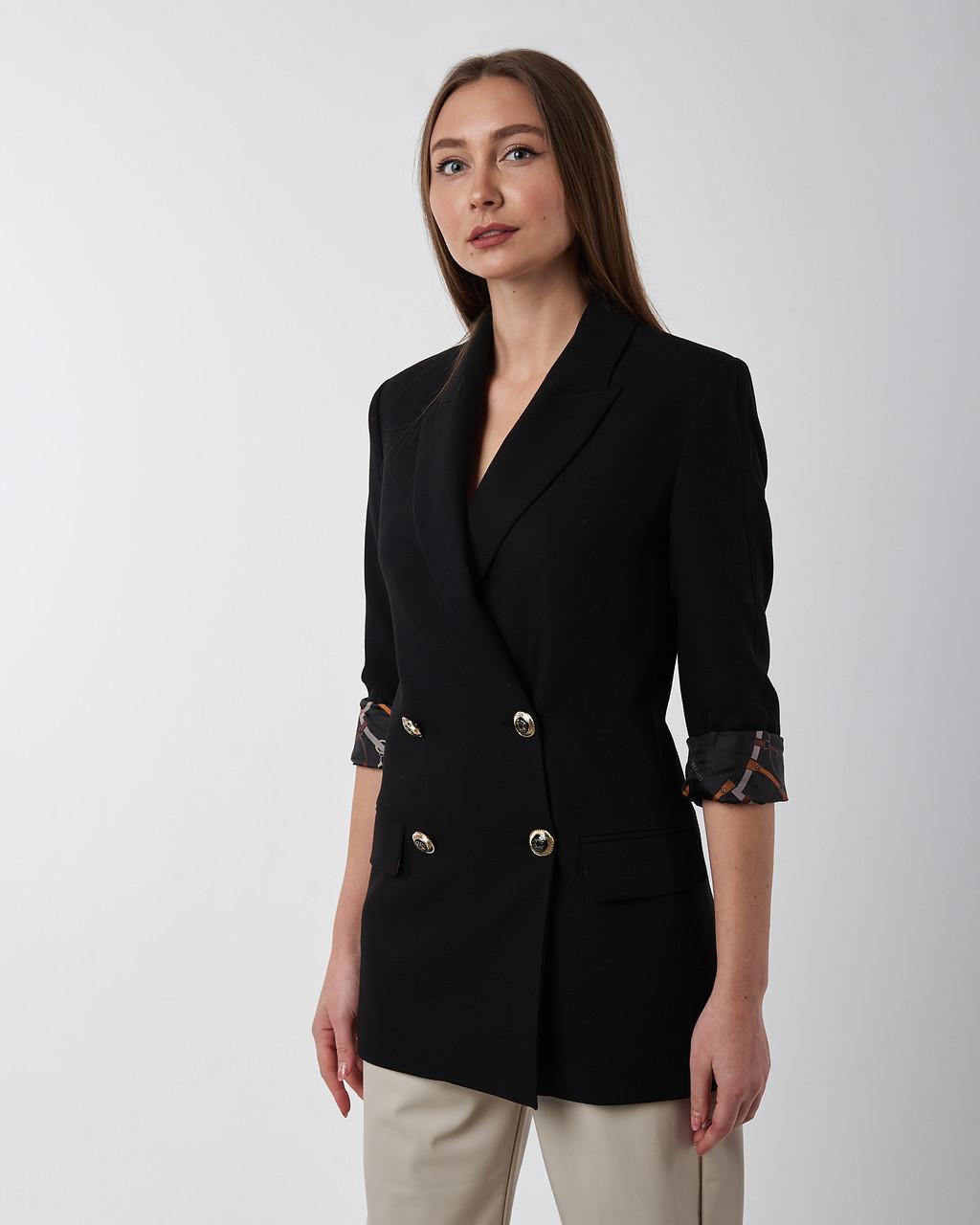 Пиджак женский черный. Турция