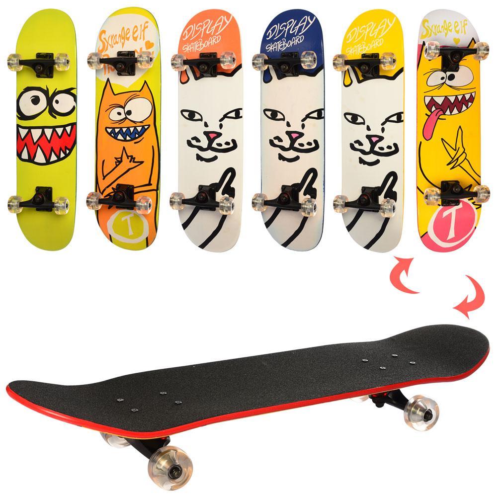Скейтборд для детей скейт