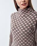 Женский свитер Serianno  с воротником стойкой. Турция, фото 3