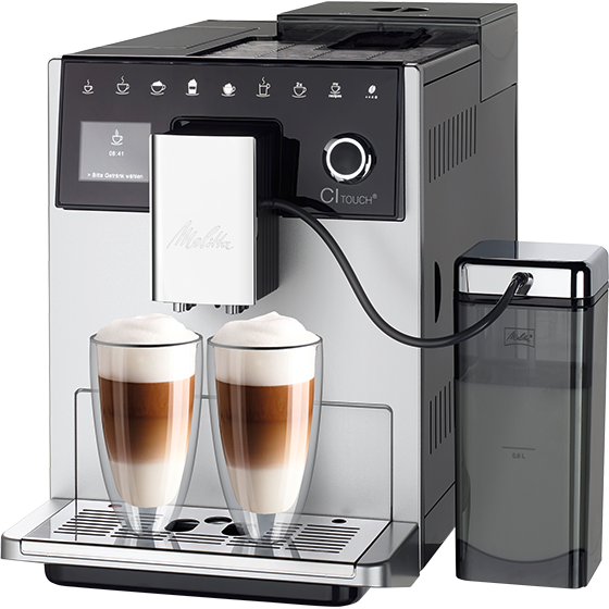 Кофемашина Melitta CAFFEO CI Touch Silver (F630-101) 1400 Вт
