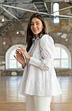 Стильная женская блуза из бенгалина 23-1, фото 4