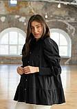Стильная женская блуза из бенгалина 23-1, фото 3