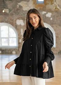 Стильная женская блуза из бенгалина 23-1