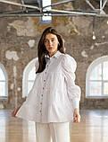 Стильная женская блуза из бенгалина 23-1, фото 2