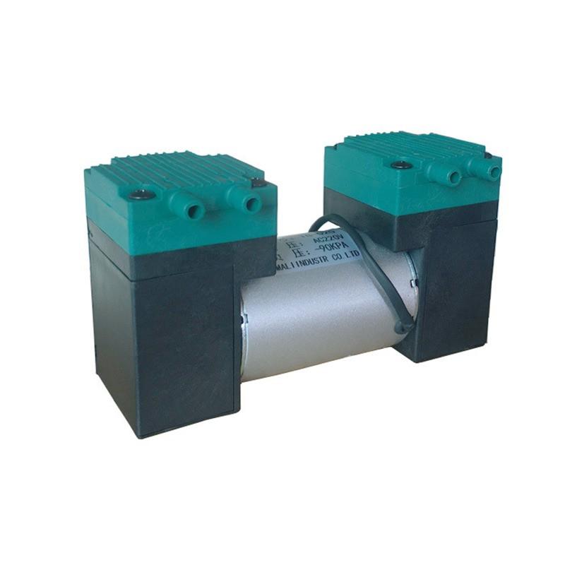 Электрический мембранный микро вакуумный насос TG-020 с двойными головками