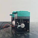 Электрический мембранный микро вакуумный насос TG-020 с двойными головками, фото 3