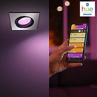 Philips Hue White and Color Ambiance Centura Silver 5055148P7, фото 1