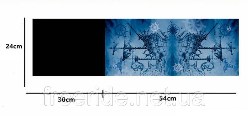Зимний бафф с флисом (пиратский корабль), фото 2