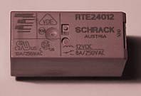 Реле электромеханическое  RTE24012A;  12VDC