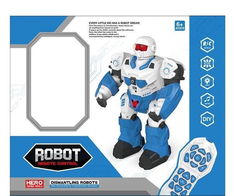 """Робот """"ROBOT"""" на радиоуправлении в коробке 7707"""