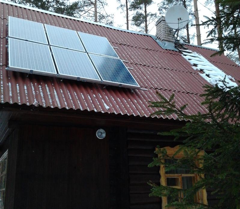 Автономная электростанция 1380 Вт, дача, Переяслов-Хмельницкий