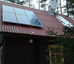 Солнечные панели 230Вт*6 шт на крыше