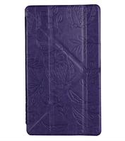 "Чехол для планшета Utty Y-case Pattern Asus C Z170 7"" Purple Owl"