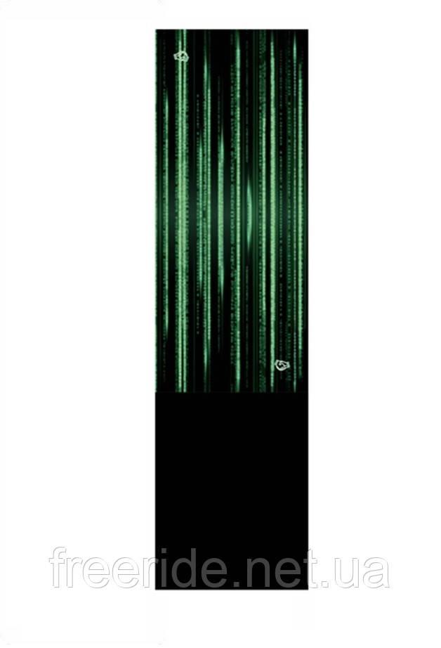 Зимний бафф с флисом, теплый шарф (матрица)