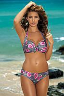Модный купальник с цветочным принтом F20 348