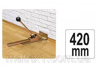 Струбцина для укладки паркета и ламината YATO с диапазоном 420 мм