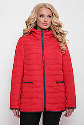 Куртка женская Нонна красная