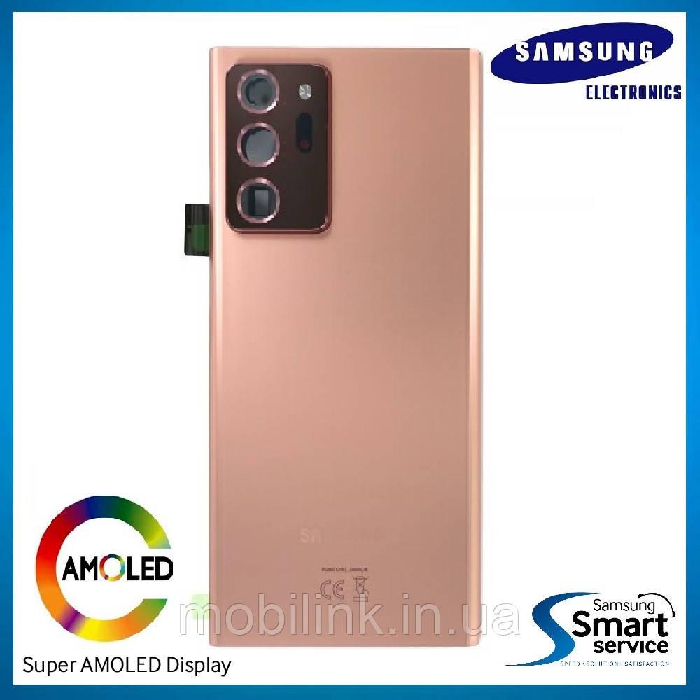 Крышка задняя Samsung Note 20 Ultra N985 Бронза Bronze GH82-23281D оригинал!