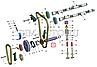 406.1002096-10 Труба промежуточного вала двигателя ЗМЗ 406 ГАЗЕЛЬ (пр-во ЗМЗ), фото 2