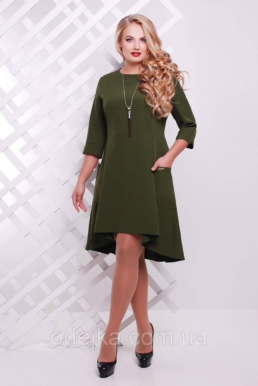 Сукня Мілана оливкова