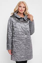 Куртка демисезонная женская Паутинка металлик