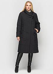 Пальто демисезонное Хина черный