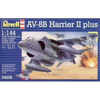 Сборная модель Revell Авианосный самолет AV-8B Harrier II plus 1:144 (4038)