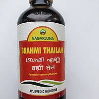 Масло Брахми для волос Нагарджуна, 200мл Индия.