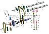 406.3906614 Гидротолкатель дв.ЗМЗ 406 INA (легкая конструкция) (Германия) (1 шт.), фото 2