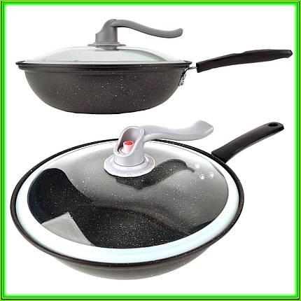 Сковорода вакуумна WOK D 32 см, фото 2