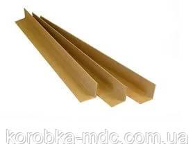 Уголок картонный защитный б/у 45х45х1700мм 4мм