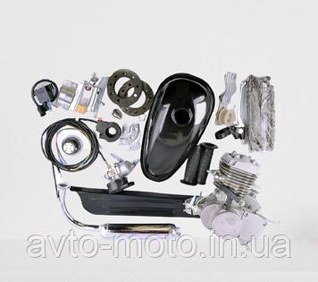 Двигатель веломотор с ручным стартером 80 сс (ОРИГИНАЛ)