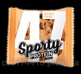 Протеиновое печенье Sporty  Шоколад-Фундук (60 грамм)