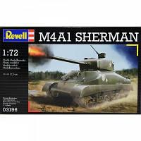Сборная модель Revell Американский средний танк M4A1 Sherman 1:72 (3196)