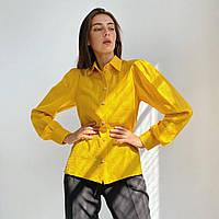 Рубашка женская желтая, арт.1067.1, фото 1