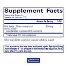 Pure Encapsulations Taurine, 500 mg, 60 Capsules, фото 2