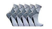 Шкарпетки дитячі спортивні 10 пар Кузя Lycra Футбол, Розмір 22, фото 1