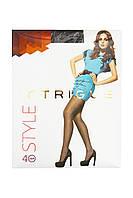 Колготки жіночі Intrigue Style 40 DEN Чорні Розмір 6