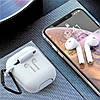 Чехол силиконовый с карабином для бокса наушников Headset slab, фото 2
