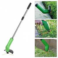 Газонокосилка-триммер ручная беспроводная для мягкой травы Zip Trim  (батарейки в комплекте), фото 1