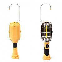 Автомобильная переноска,  гаражная беспроводная светодиодная LED лампа-светильник, с магнитом на батарейках